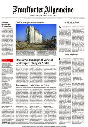 Frankfurter Allgemeine Zeitung (03.08.2021)