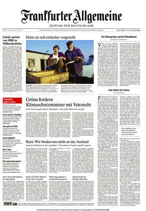 Frankfurter Allgemeine Zeitung (04.08.2021)