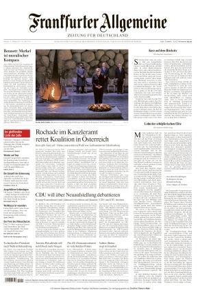 Frankfurter Allgemeine Zeitung (11.10.2021)