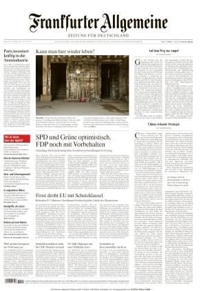 Frankfurter Allgemeine Zeitung (13.10.2021)