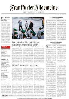 Frankfurter Allgemeine Zeitung (14.10.2021)