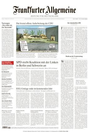 Frankfurter Allgemeine Zeitung (15.10.2021)