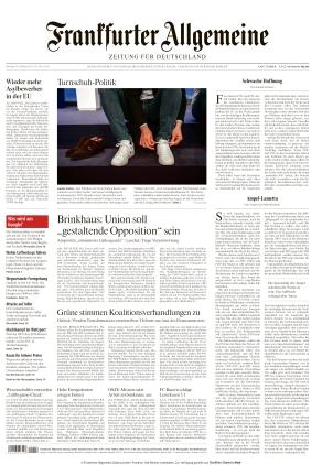 Frankfurter Allgemeine Zeitung (18.10.2021)