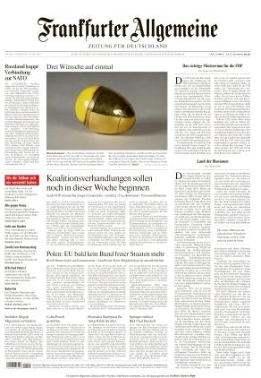 Frankfurter Allgemeine Zeitung (19.10.2021)