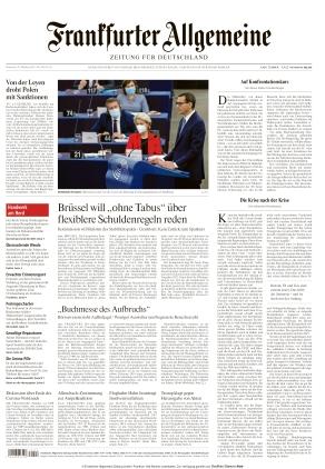 Frankfurter Allgemeine Zeitung (20.10.2021)