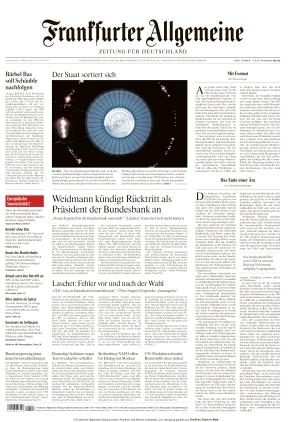 Frankfurter Allgemeine Zeitung (21.10.2021)