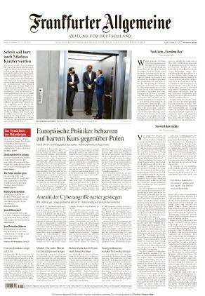 Frankfurter Allgemeine Zeitung (22.10.2021)