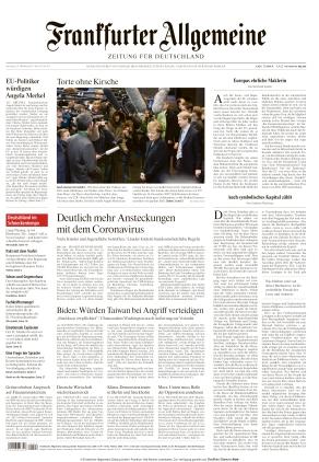 Frankfurter Allgemeine Zeitung (23.10.2021)