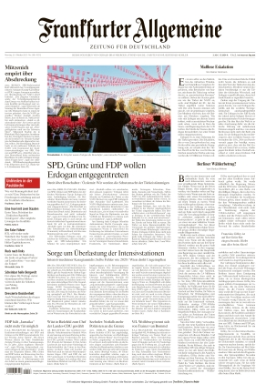 Frankfurter Allgemeine Zeitung (25.10.2021)