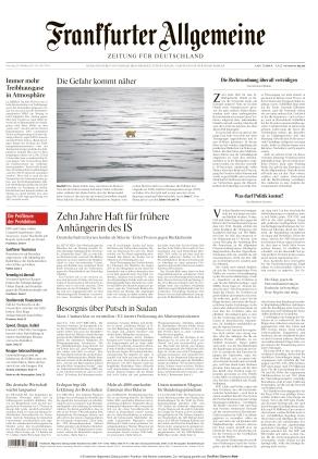 Frankfurter Allgemeine Zeitung (26.10.2021)