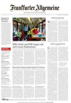 Frankfurter Allgemeine Zeitung (28.10.2021)