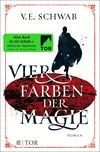 Vergrößerte Darstellung Cover: Vier Farben der Magie. Externe Website (neues Fenster)