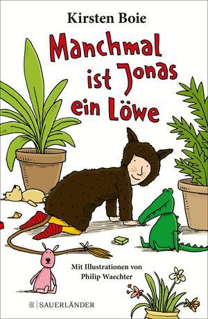 Manchmal ist Jonas ein Löwe