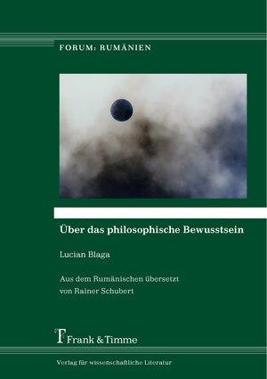 Über das philosophische Bewusstsein