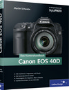 Das Kamerahandbuch Canon EOS 40D