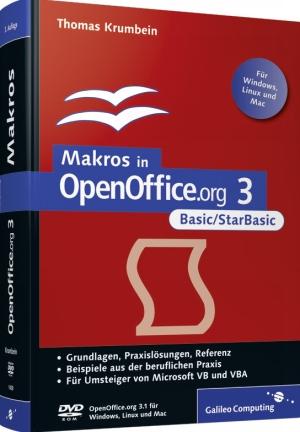 Makros in OpenOffice.org 3 - Basic/StarBasic