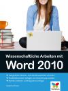 Wissenschaftliche Arbeiten mit Word 2010