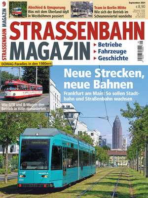 Straßenbahn Magazin (09/2021)