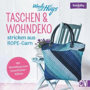 Woolly Hugs Taschen & Wohn-Deko stricken aus ROPE-Garn.