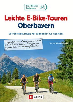 Leichte E-Bike-Touren Oberbayern