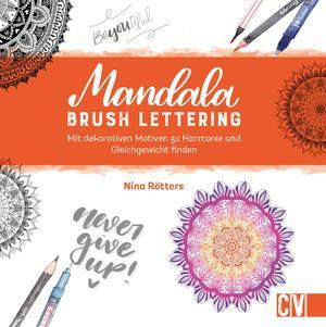 Mandala Brush Lettering