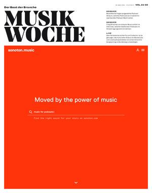 MusikWoche (21-22/2021)