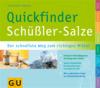 Vergrößerte Darstellung Cover: Quickfinder Schüßler-Salze. Externe Website (neues Fenster)