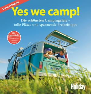 HOLIDAY Reisebuch: Yes we camp! Deutschland