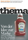 Kapağın büyük görseli: Von der Idee zur Marke. Harici uyarı yeni sayfa açar