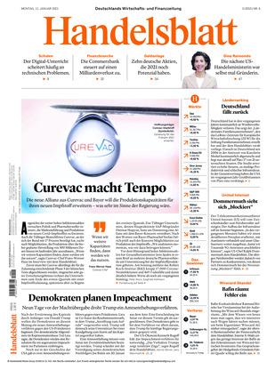 Handelsblatt (11.01.2021)