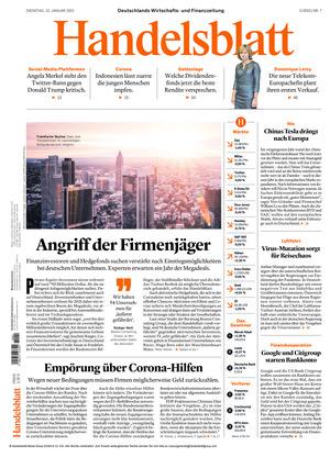 Handelsblatt (12.01.2021)