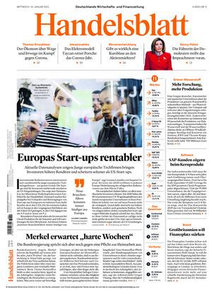 Handelsblatt (13.01.2021)