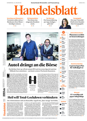 Handelsblatt (14.01.2021)