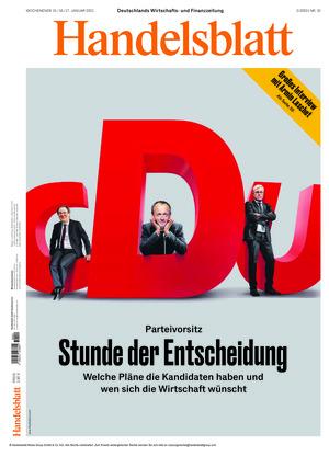 Handelsblatt (15.01.2021)