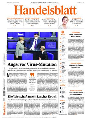 Handelsblatt (18.01.2021)