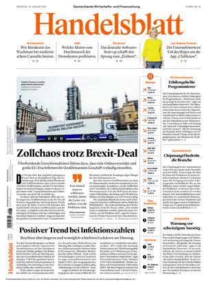 Handelsblatt (19.01.2021)