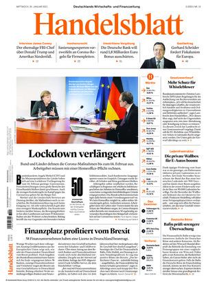 Handelsblatt (20.01.2021)