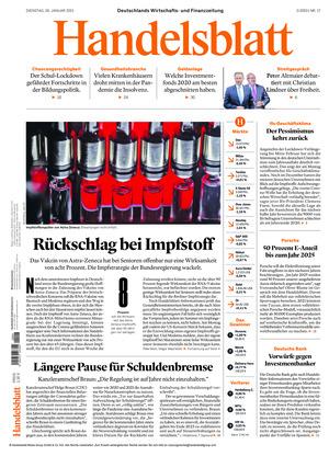 Handelsblatt (26.01.2021)