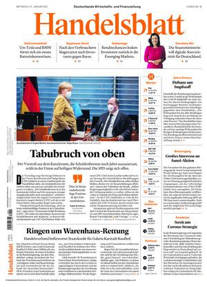 Handelsblatt (27.01.2021)