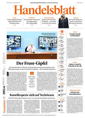 Handelsblatt (17.02.2021)