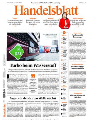 Handelsblatt (18.02.2021)