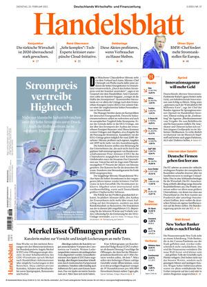 Handelsblatt (23.02.2021)