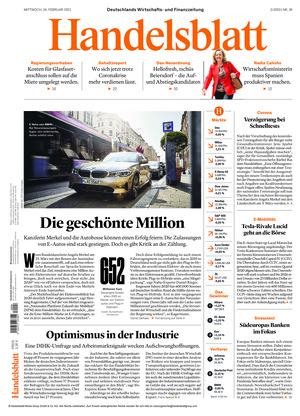 Handelsblatt (24.02.2021)