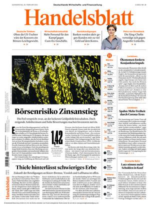 Handelsblatt (25.02.2021)