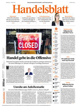 Handelsblatt (01.03.2021)
