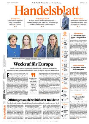 Handelsblatt (02.03.2021)