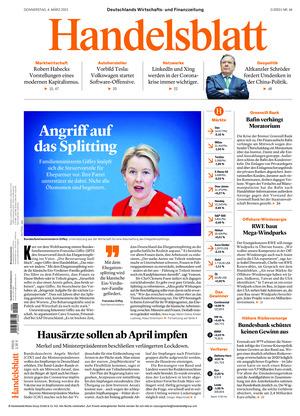 Handelsblatt (04.03.2021)