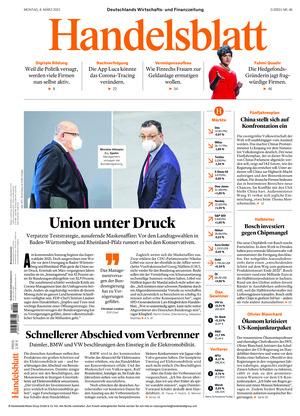 Handelsblatt (08.03.2021)
