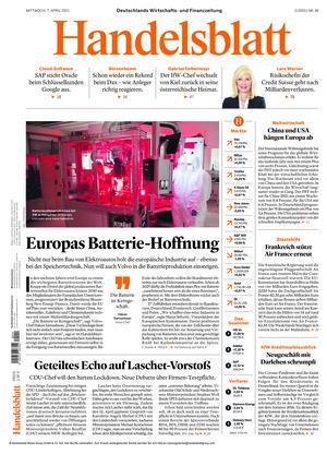Handelsblatt (07.04.2021)