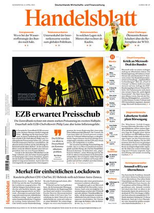 Handelsblatt (08.04.2021)